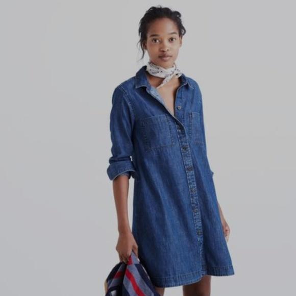 0369731b29 Madewell Dresses   Skirts - Madewell Denim Shirtdress